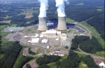 exterior of a nuclear power plant