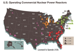 What Is A Reactor Trip And How Does It Protect The Plant US - Map of nuclear reactors in us