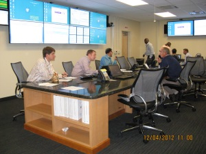 The Region IV Incident Response Center during an emergency exercise last month.