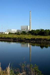Photo of the Oyster Creek Nuclear Generating Station, Unit 1, located near Forked River, N.J.