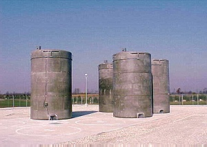 Spent fuel dry casks