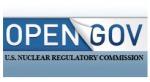 NRC Open Gov