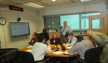 Region I incident response personnel participate in an exercise.