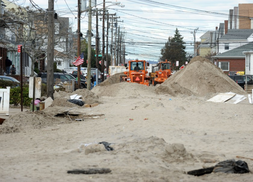 Sandy may have left a mess in New York, but the nuclear reactors in its wake remained safe. Photo courtesy of FEMA