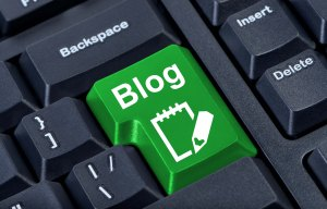 Blog button med