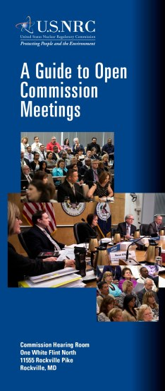 Cover Graphic_Guide to Open Commission Meetings