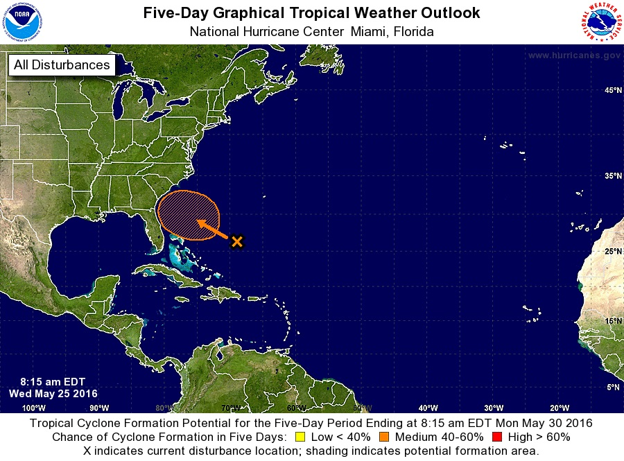 2016 Tropical Weather Outlook May