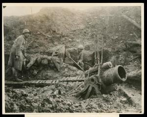 Defense in depth circa WWI. Photo courtesy of the Library of Congress