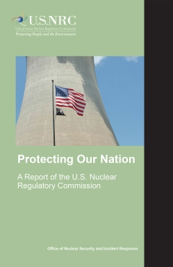 "NUREG/BR-0314, Rev. 4, ""August 2015 Protecting Our Nation."""