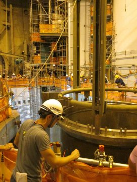 More than 350 NRC staff members were involved in the construction inspection and project management effort for Watts Bar 2